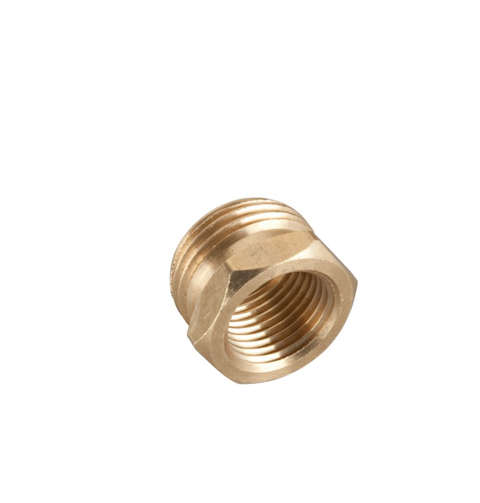 Rainwave brass male female connector quot the home depot