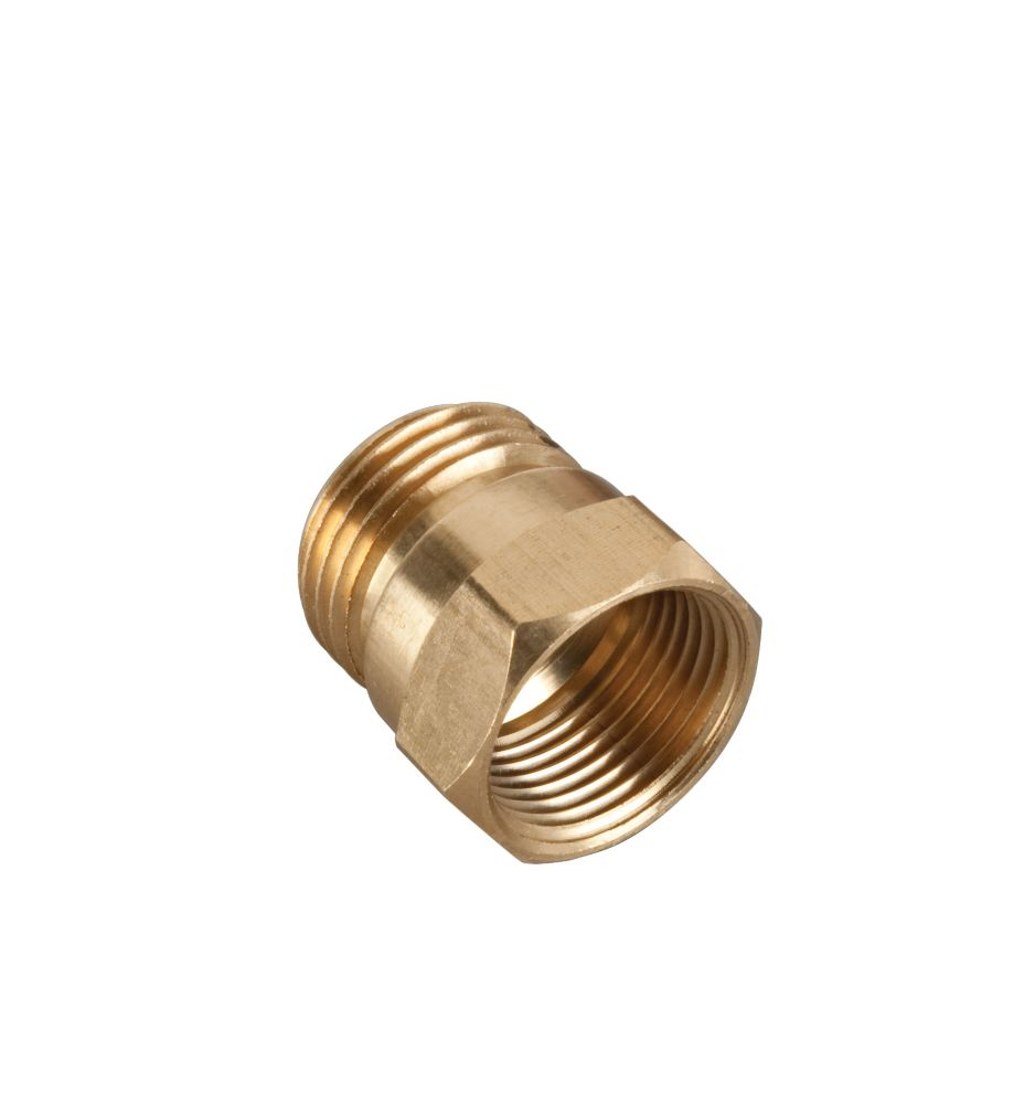 """Brass Male/Female Connector-3/4"""""""
