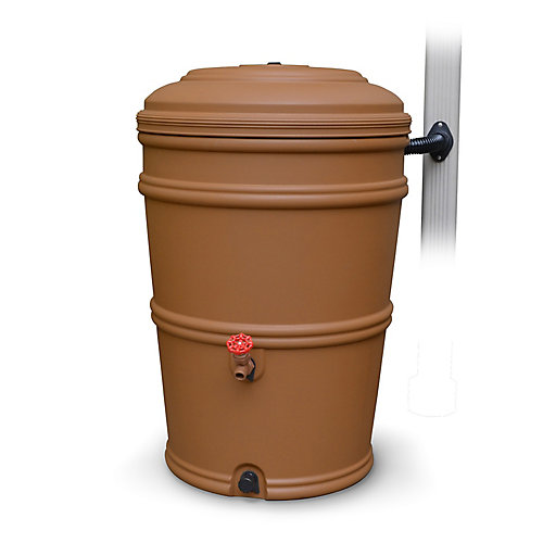 Rainstation Fini Terracotta De 189 L / 50 Gal