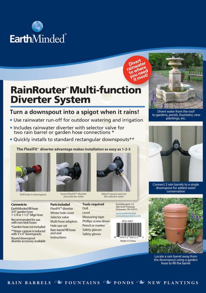Rainrouter Multi-Function Diverter System