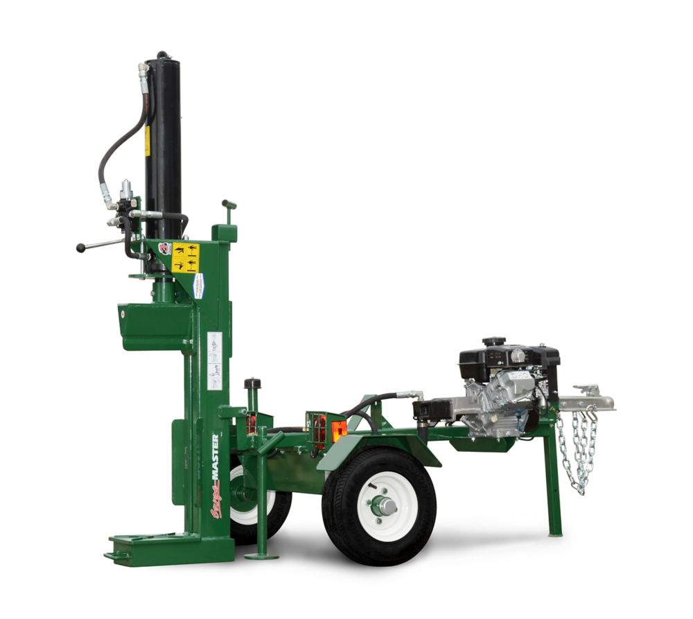 Powerful 25T Hydraulic Woodsplitter Canadian Made Horiz / Vertical Positions 2 Stage Pump Light K...