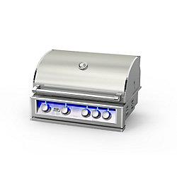 Broilchef 60,000 BTU 32-inch 5-Burner Stainless Steel Built-In Propane BBQ