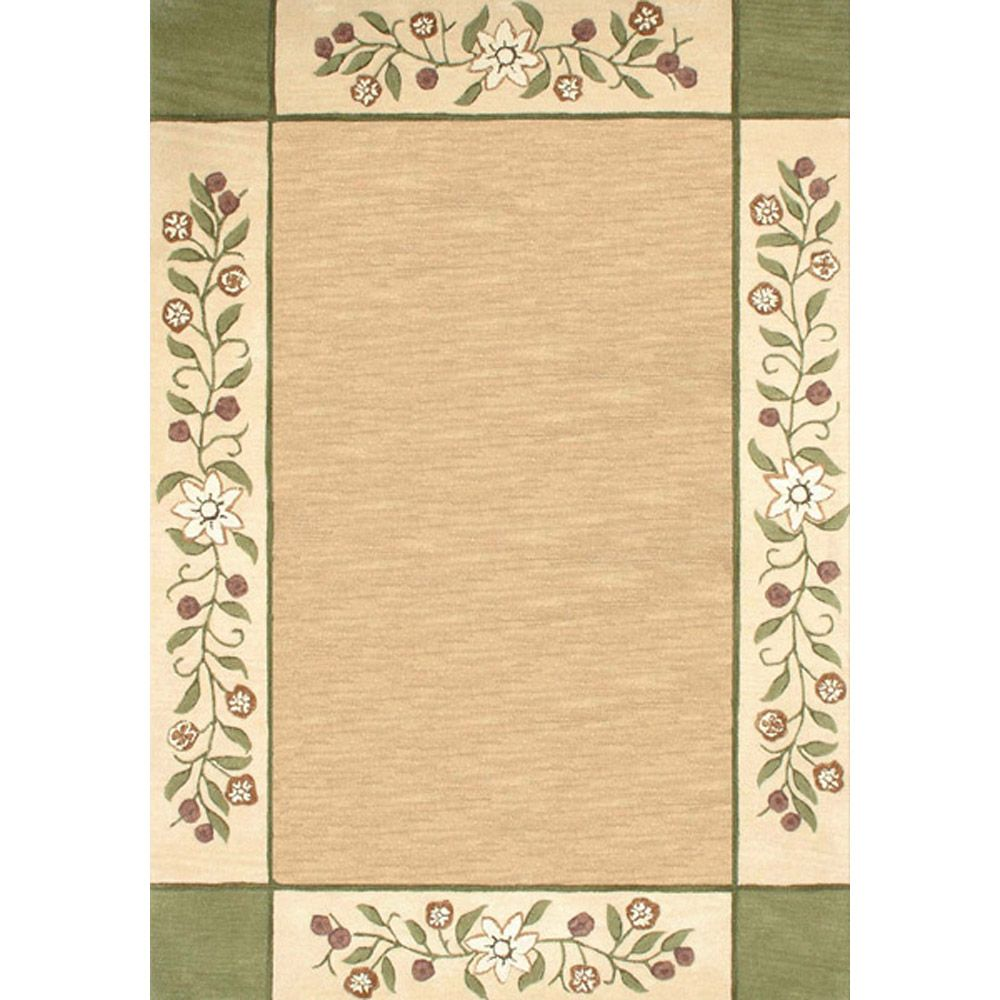 Anglo Oriental Monteray Beige Tan 5 Ft
