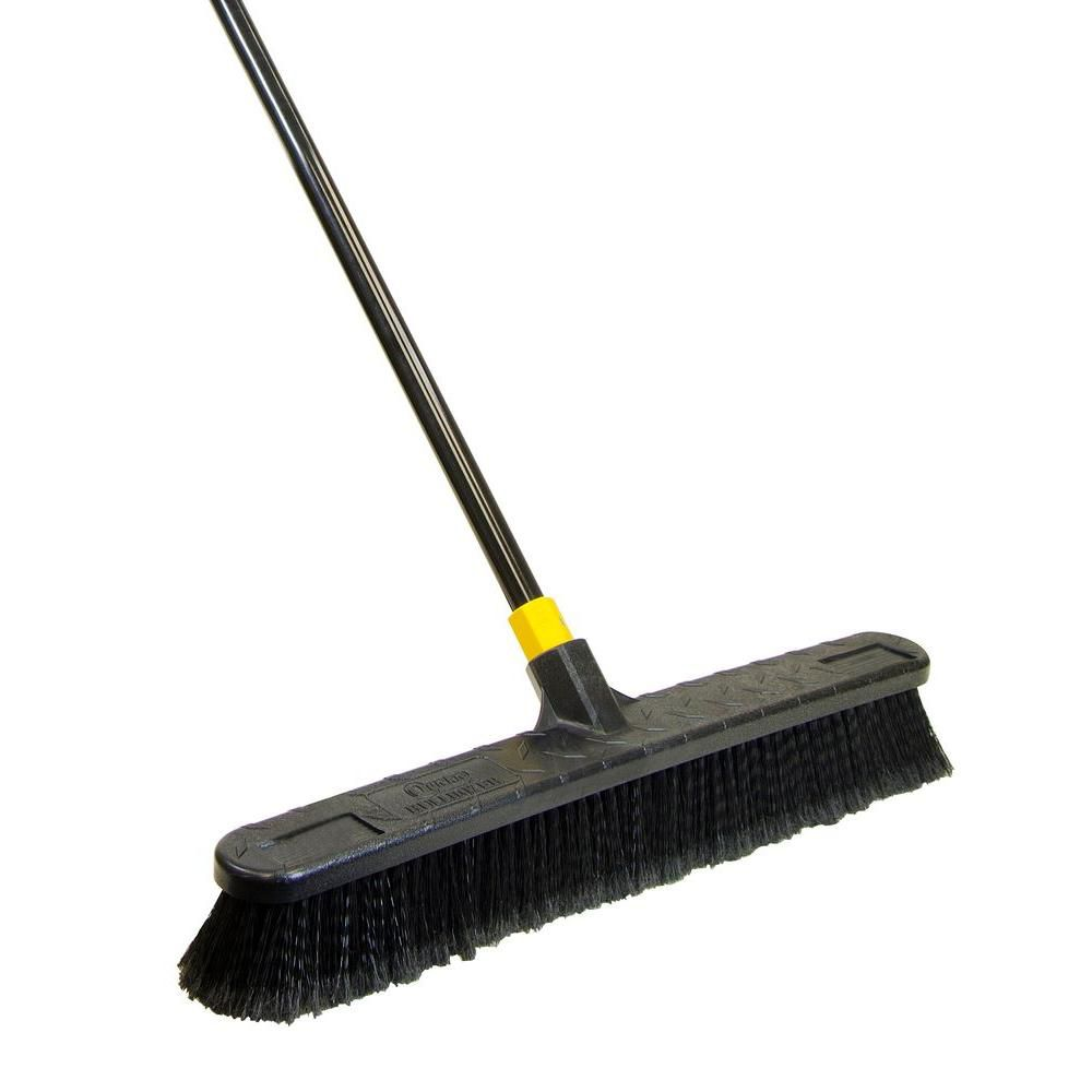 24 Inch Smooth Surface Pushbroom