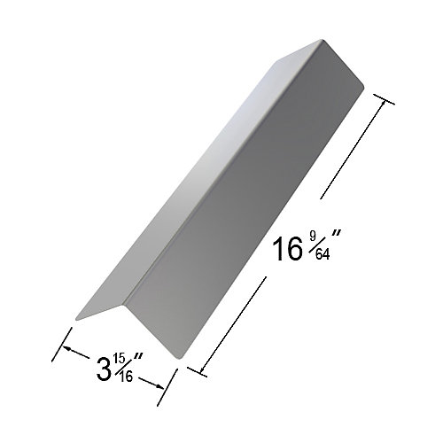 Stainless Steel Heat Plate for , BHG, Broil Chef and BOND Gas Grill Models