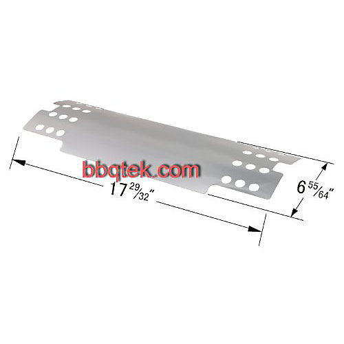 Stainless Steel Heat Plate for Perfect Flame Gas Grill Models