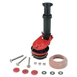 Korky Toilet Repair 2 Inch Adjustable FlushValve Kit with Tank-to-Bowl Gasket & hardware