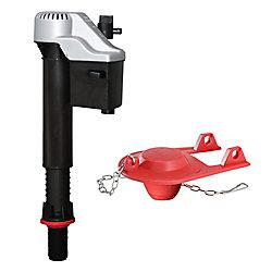 Korky Toilet Repair QuietfillPlatinumFill Valve & Flapper Kit