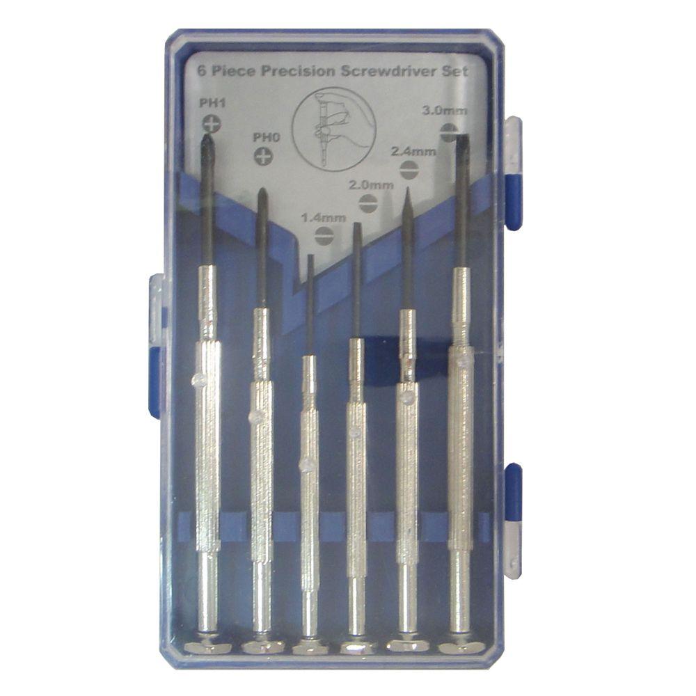 Precision Screwdriver Set (6-Piece)