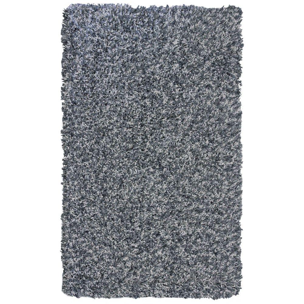 Throw Rug Cleaning Near Me: Lanart Rug Grey Popcorn Shag Area Rug 4 Feet X 6 Feet