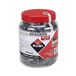 RUBI Espaceurs en Jarre Rubi type Leave-in. 1,5mm 1/16''