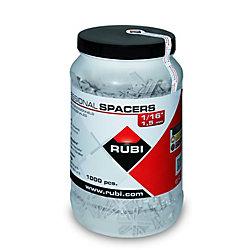 RUBI Espaceurs en Jarre Rubi type Leave-in 5mm 3/16''