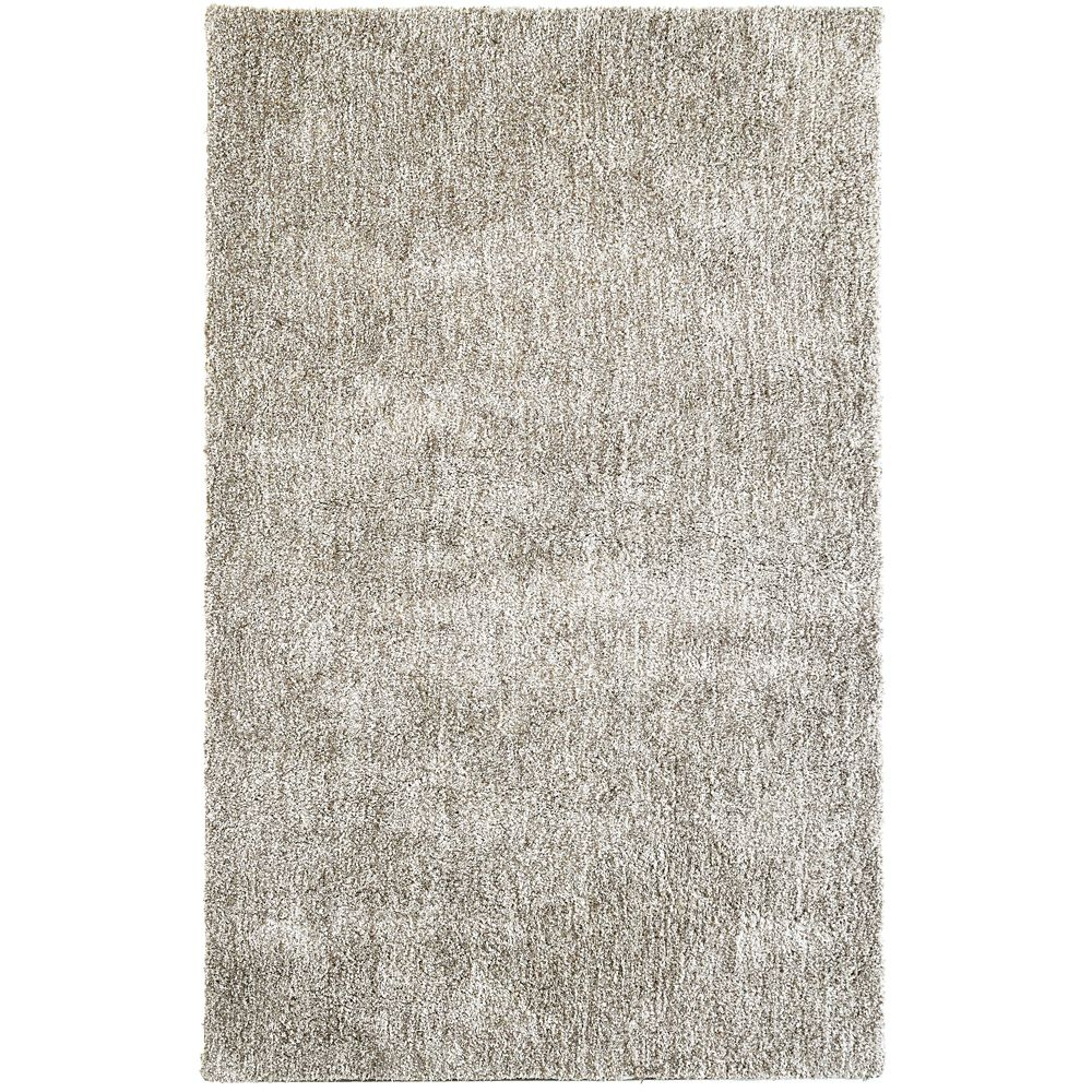 Tapis Taupe Heather 8 Pieds x 10 Pieds