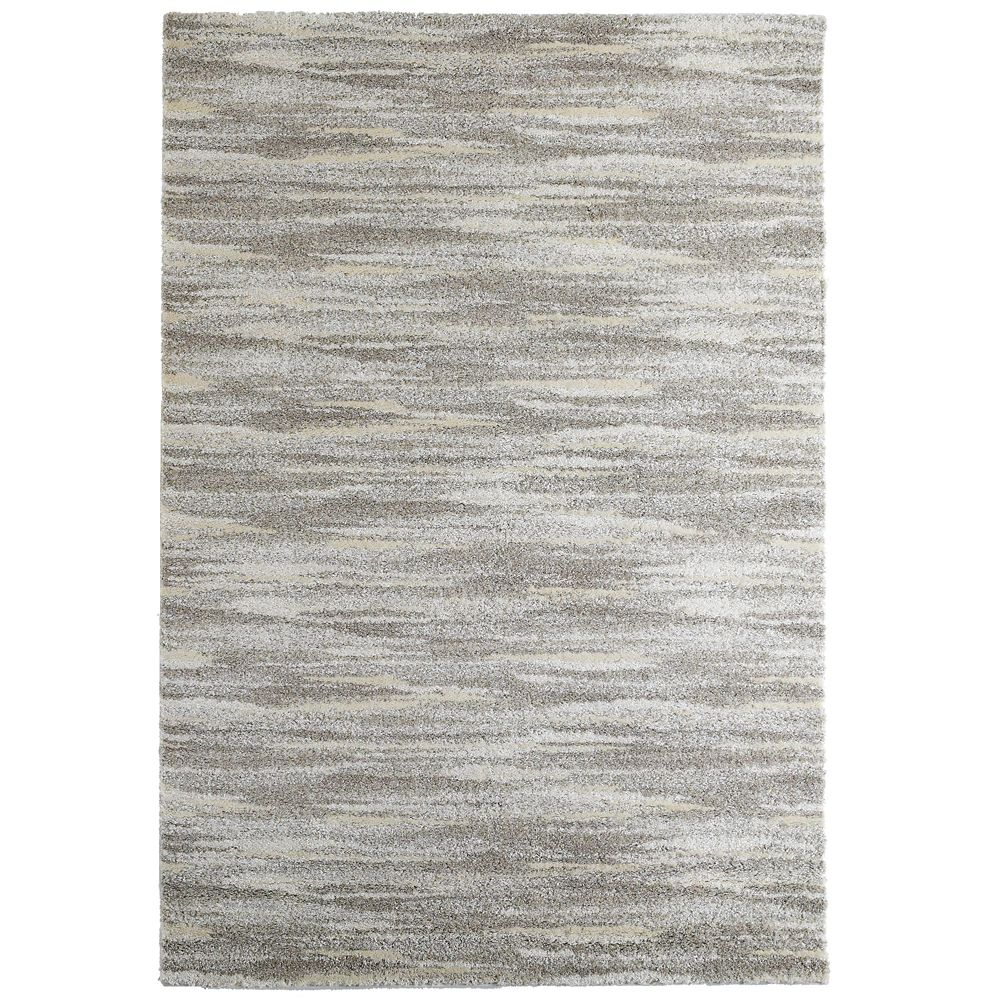 Beige Scandinavia Area Rug 3 Feet x 4 Feet 6 Inches