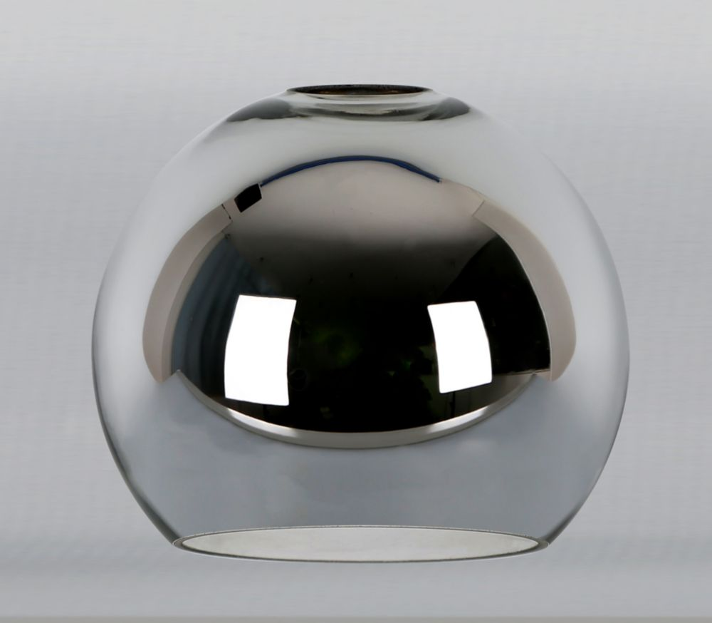 Westinghouse Chrome Metal Globe Shade 2 1/4 Inch