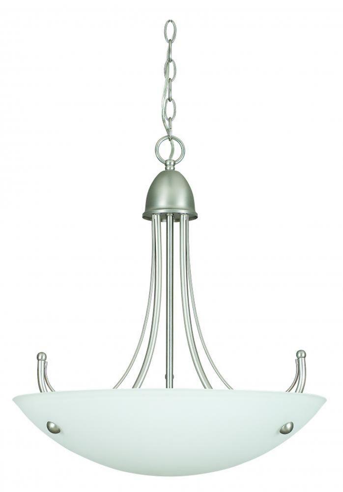 Lustre Atropolis à deux ampoules avec abat-jour de spécialité, finition de spécialité