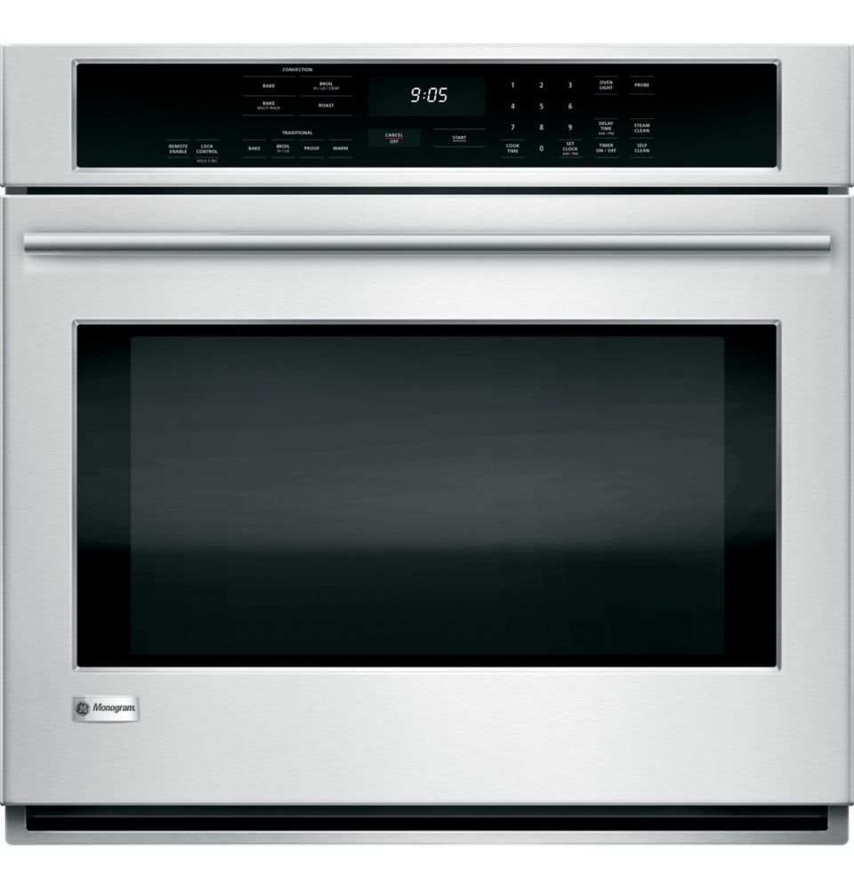 Monogram 5.0 cu. ft. Electric Convection Self-Cleaning Wall Oven in Stainless Steel
