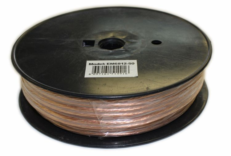 50 Feet 2 Wire Speaker Cable with 12 Gauge
