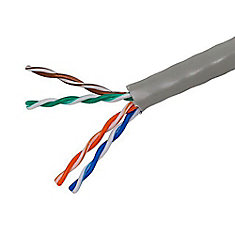 1000 ft. UTP CAT5E Network Cable in Grey