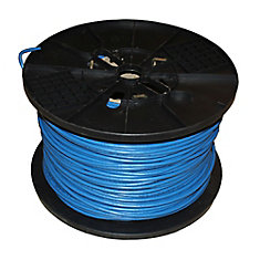 TygerWire Category 6 1000 ft. Blue 24-4 Unshielded Twist Pair Cable with FT4 Rated