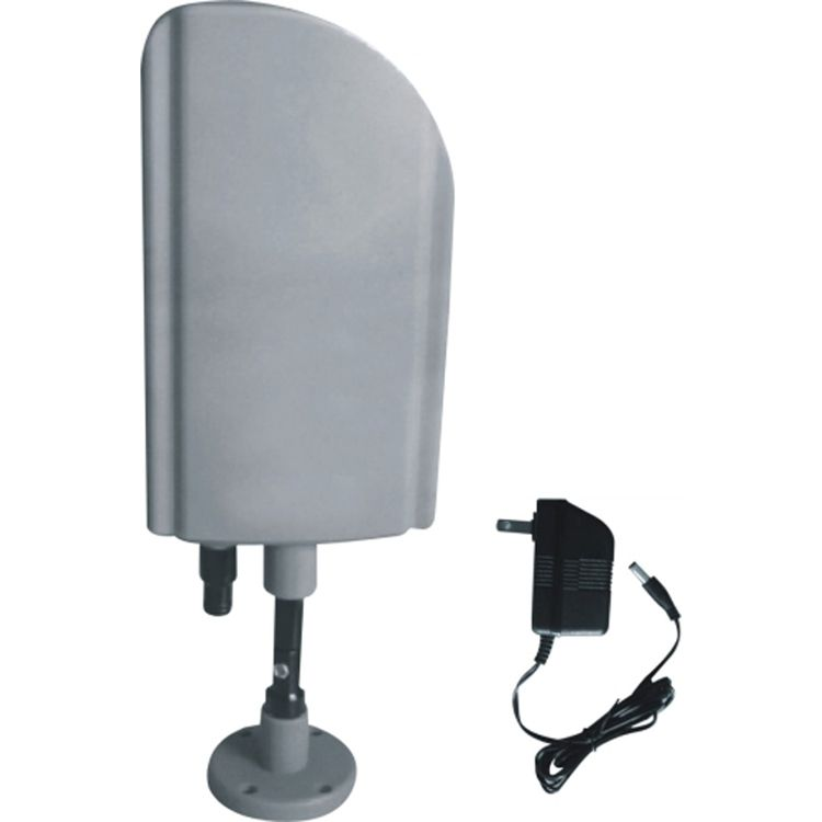 Indoor and Outdoor TV Antenna with Booster