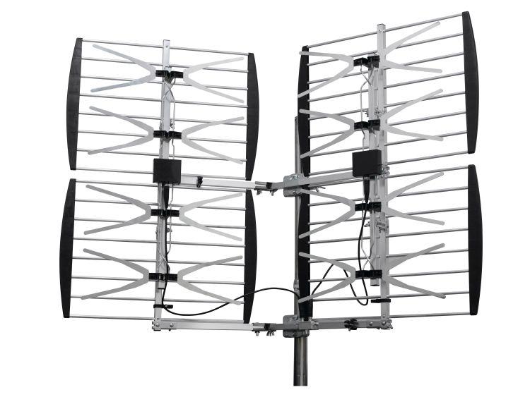 360 degrés Super 8 Bay Antenne HDTV