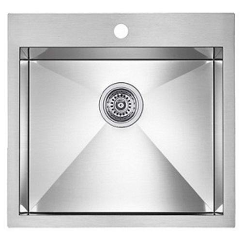 Blanco Precision Microedge 1 Level Stainless Steel Sink 22X20