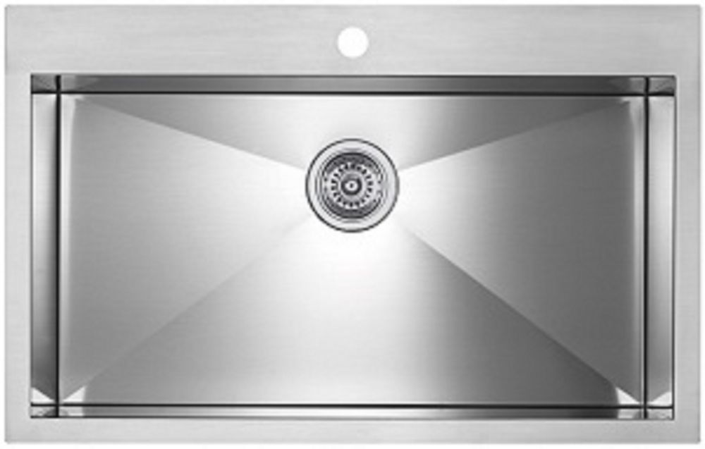 Precision microedge super single le sink 32x20