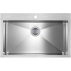 Blanco Precision Microedge Super Single Le Sink 32X20