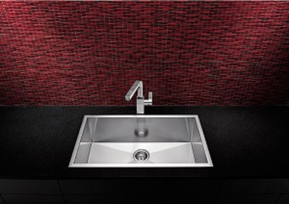 Precision Microedge 1 Stainless Steel Sink 22X18