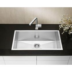 Blanco Precision Microedge Super Single Stainless Steel Sink 32X18