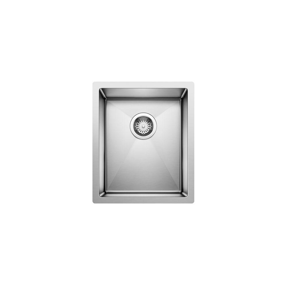 Radius 10 U sml bar steelart sink 15x18