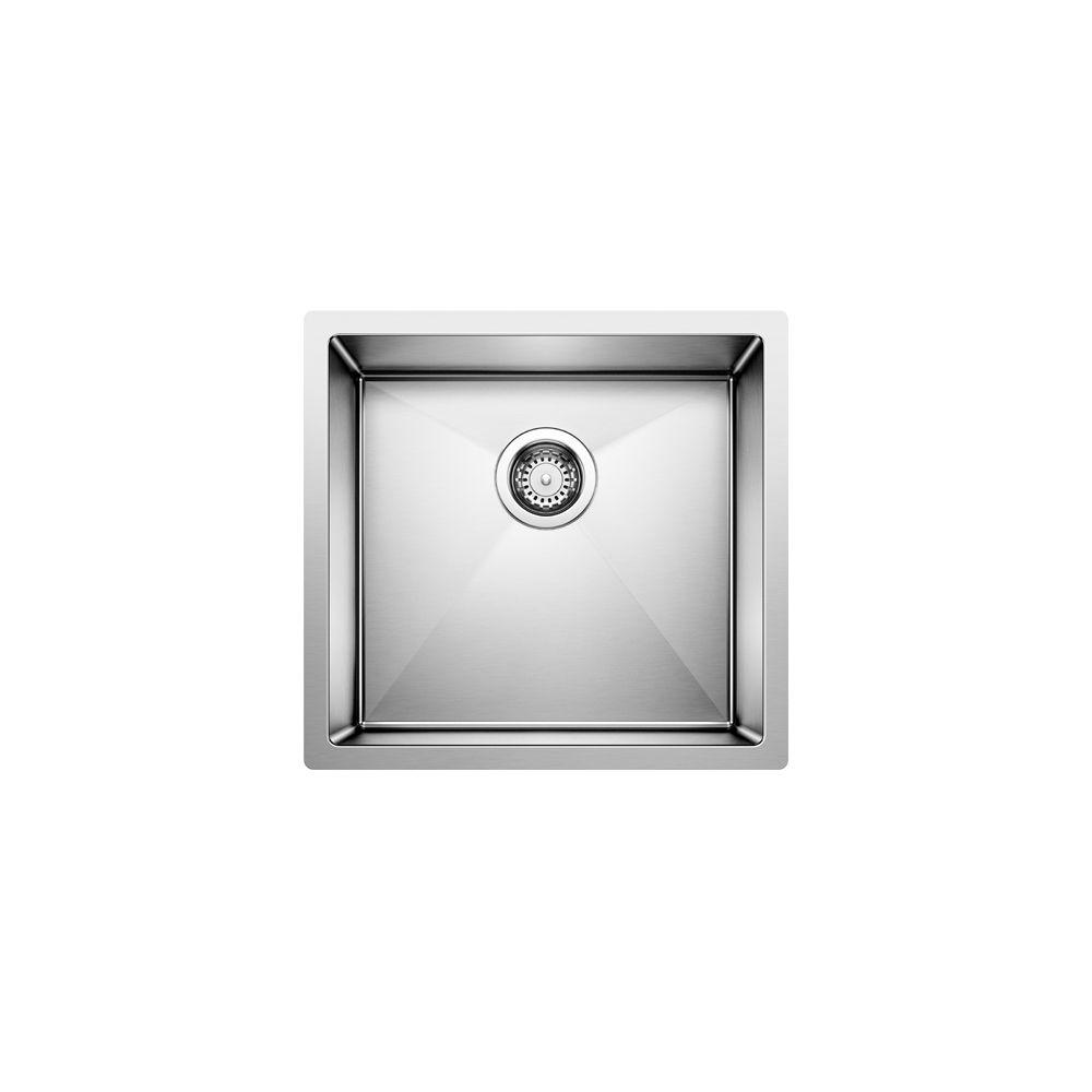 Radius 10 U 1 steelart sink 19x18