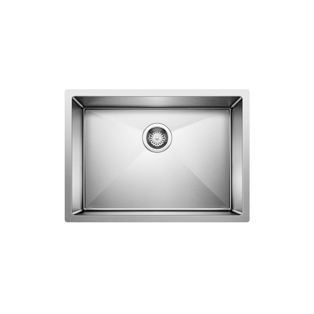 Radius 10 U 1 Large Steelart Sink 25X18 SOP1485 in Canada