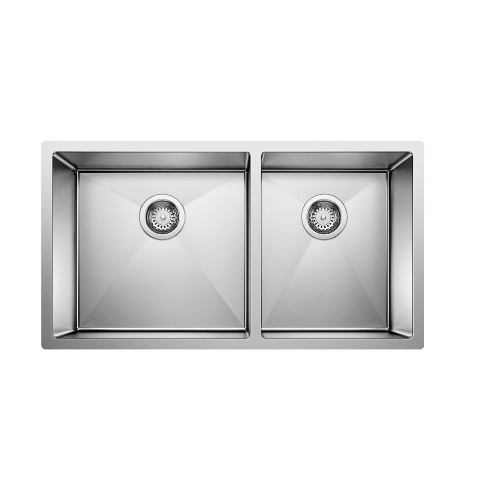 Radius 10 U 1.75 steelart sink 33x18