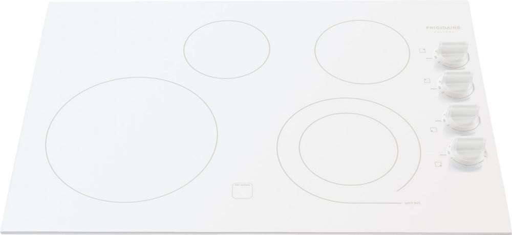 Gallery 30-inch Smooth Electric Cooktop in Stainless Steel