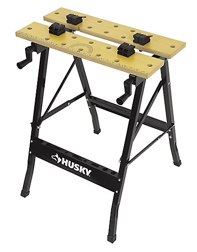 Husky folding workbench the home depot canada folding workbench greentooth Choice Image