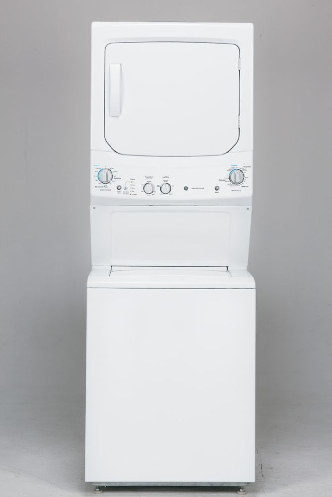 Unitized SpaceMaker Washer & Electric Dryer