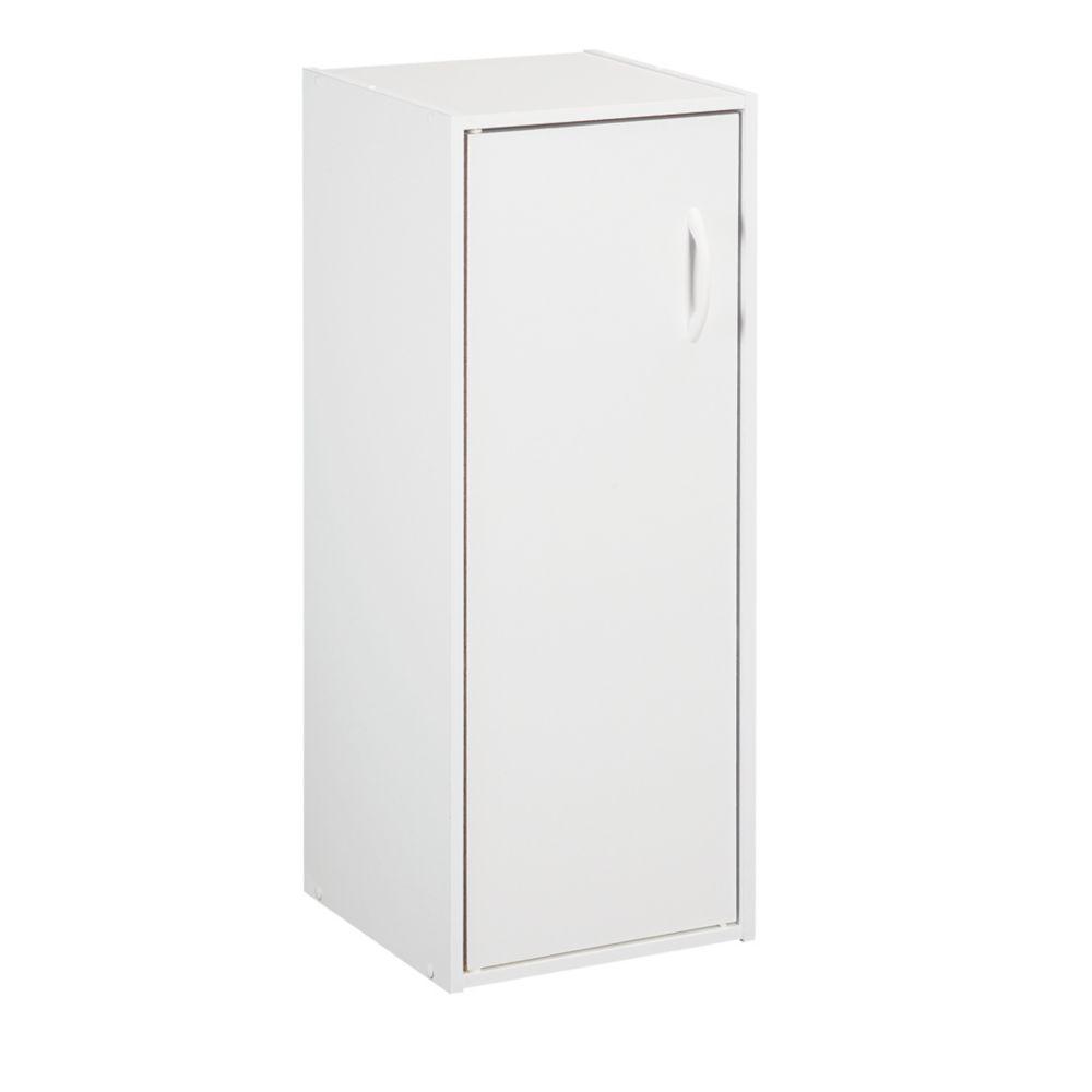 ClosetMaid ClosetMaid 12 in. W x 32 in. H White Stackable 1-Door Organizer