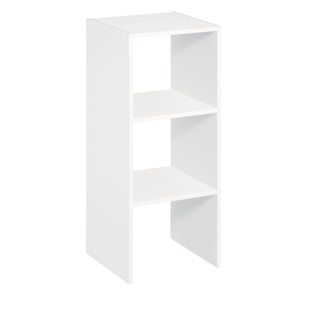 31 Inch Vertical Organizer White