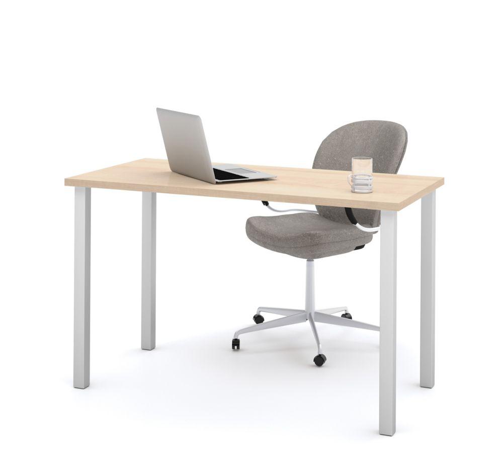 Bestar Bestar 47.6-inch x 29-inch x 24-inch Standard Computer Desk in Maple