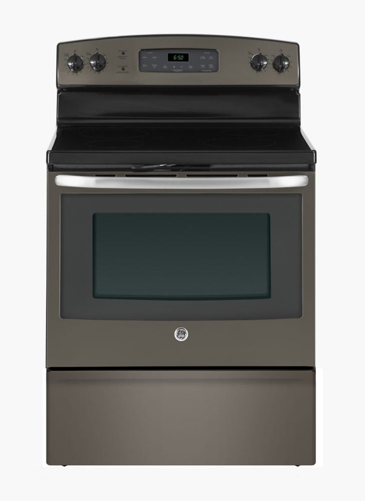 5.0 cu. ft. Free-Standing Electric Self-Cleaning Range in Slate