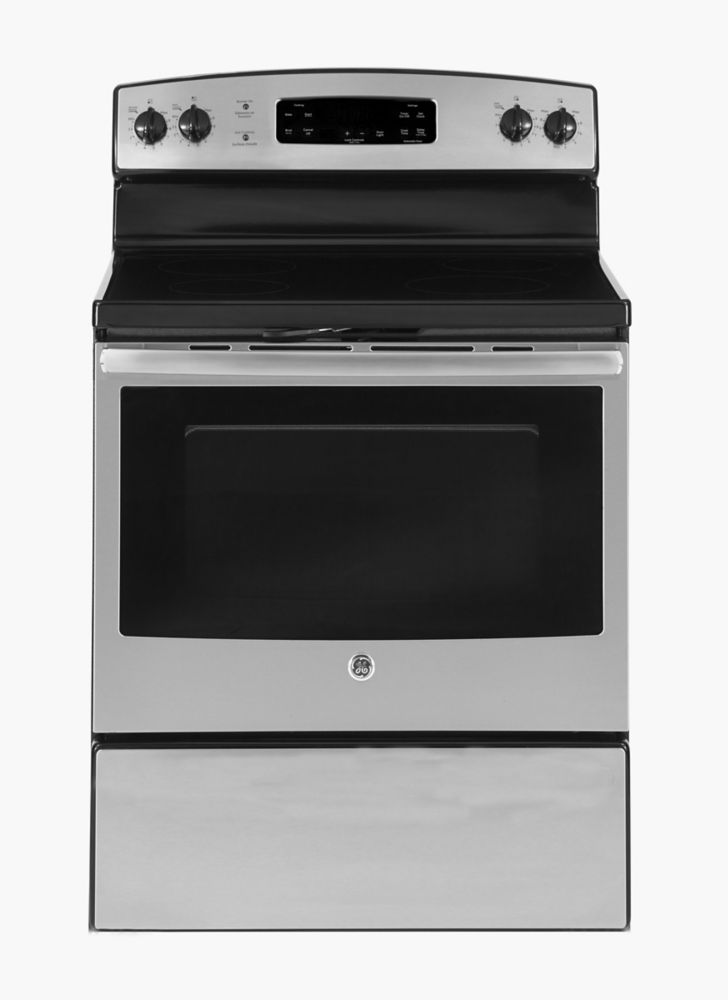 5.0 cu. ft. Free-Standing Electric Steam Clean Range in Stainless Steel