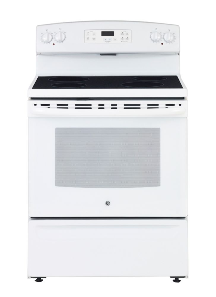 5.0 cu. ft. Free-Standing Electric Range in White