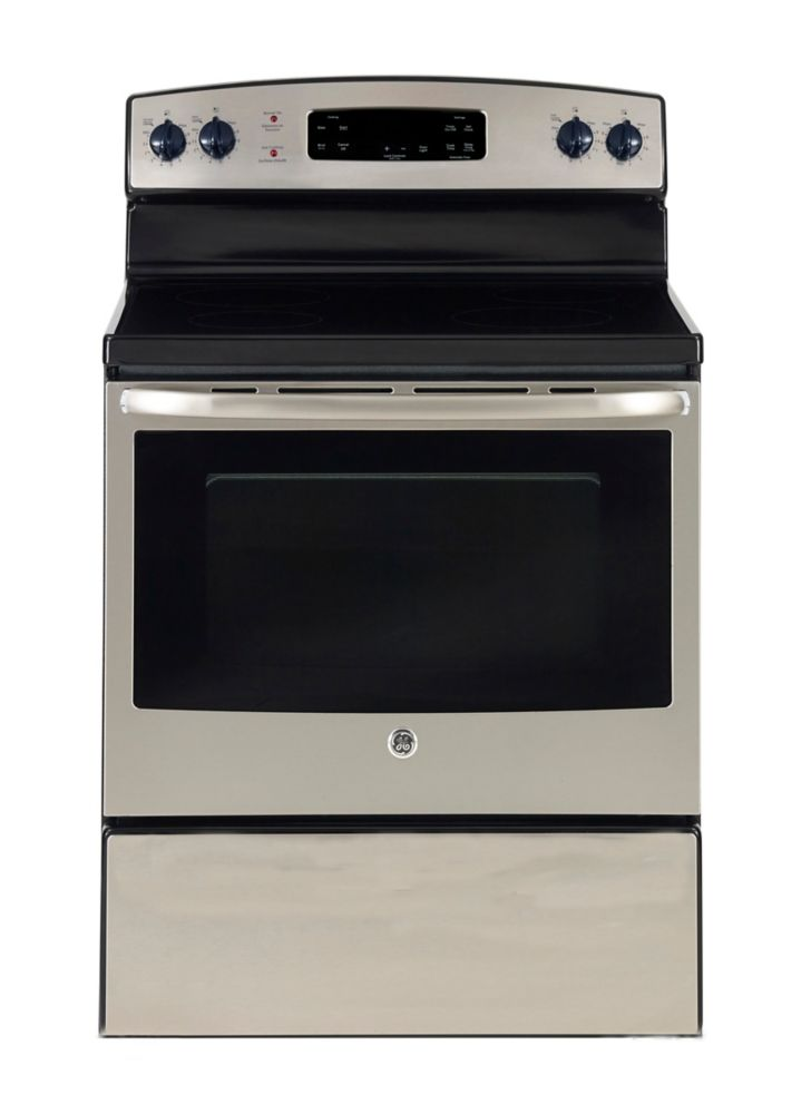 5.0 cu. ft. Free-Standing Electric Range in Stainless Steel