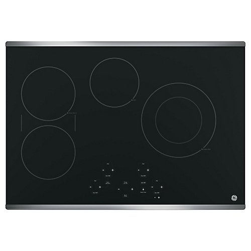 Stainless Steel Electric Cooktop