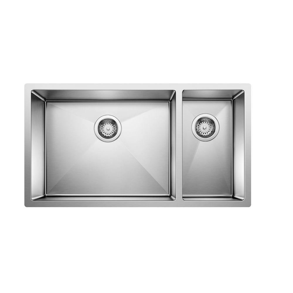 Radius 10 U 1.5 steelart sink 33x18