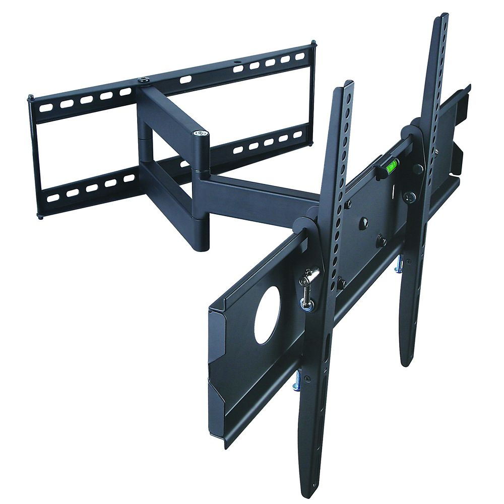 tygerclaw full motion wall mount for 32 to 63 inch tv the home depot canada. Black Bedroom Furniture Sets. Home Design Ideas