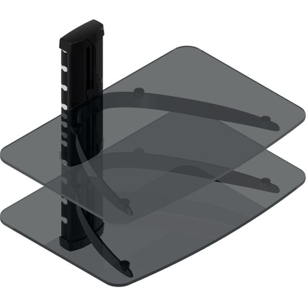 Double Layer Shelf for Media Player