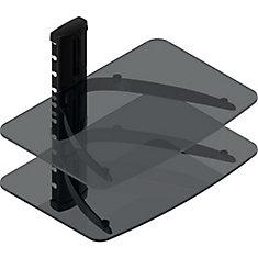 Plateau double couche pour Media Player